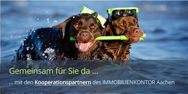 https://www.immobilienkontor-aachen.de/kooperationspartner.xhtml###Unser Netzwerk ist Ihr Vorteil. Wir arbeiten eng mit Handwerkern jeder Fachrichtung, Architekten, Projektentwicklern, Steuerberatern, Insolvenzeverwalter und anderen erfahrenen Unternehmen in der Städteregion Aachen, Aachen, Düren, Eschweiler, Roetgen, Köln etc. zusammen. Anfragen nach einer professionellen Hausverwaltung beantwortet gern unser Partnerbereich Hausverwalter Aachen: www.hausverwalteraachen.de