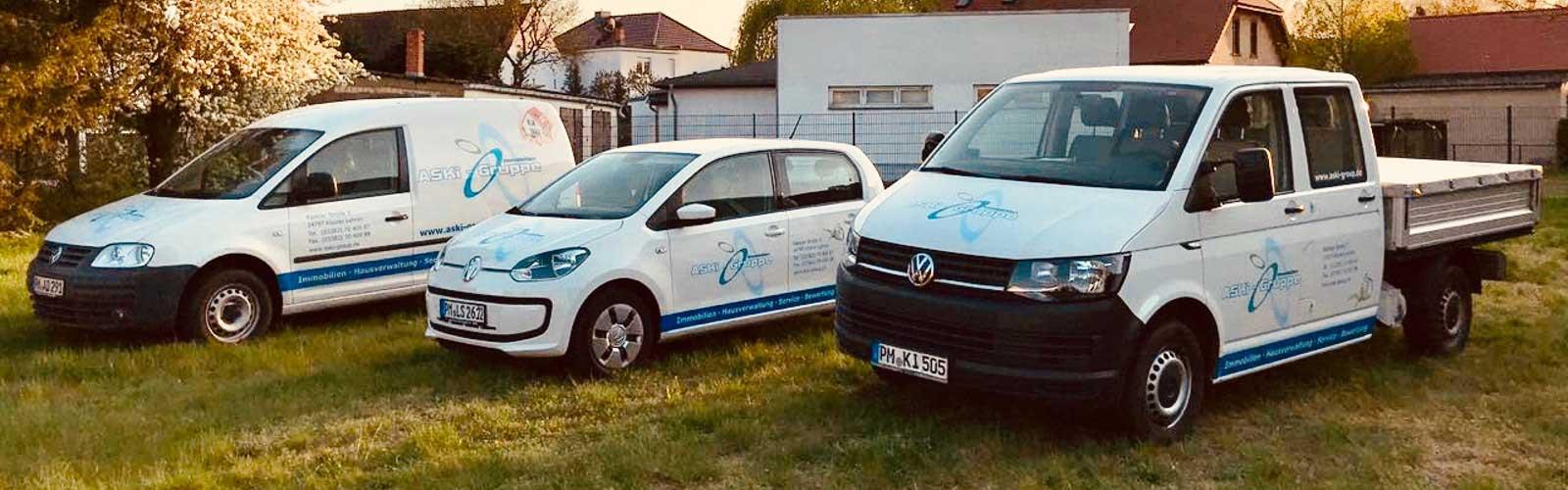 Fahrzeuge ASKi Gruppe