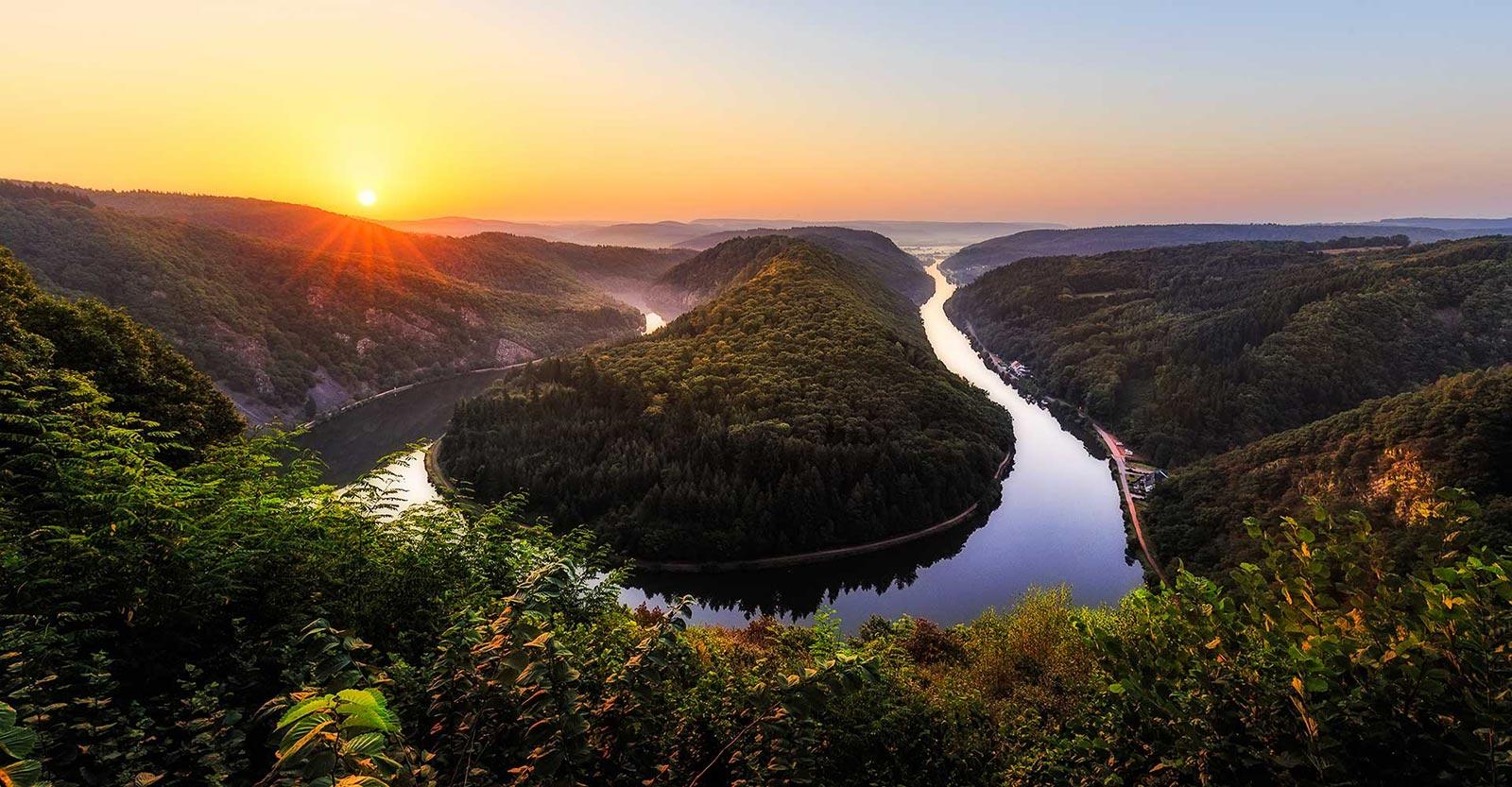 Fluss Saar