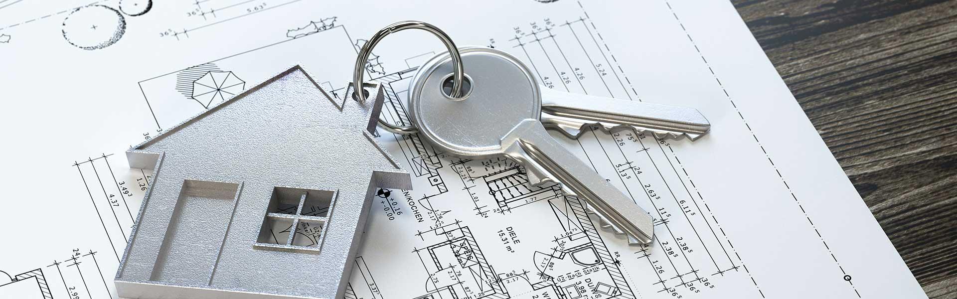 Schlüssel zur Immobilie