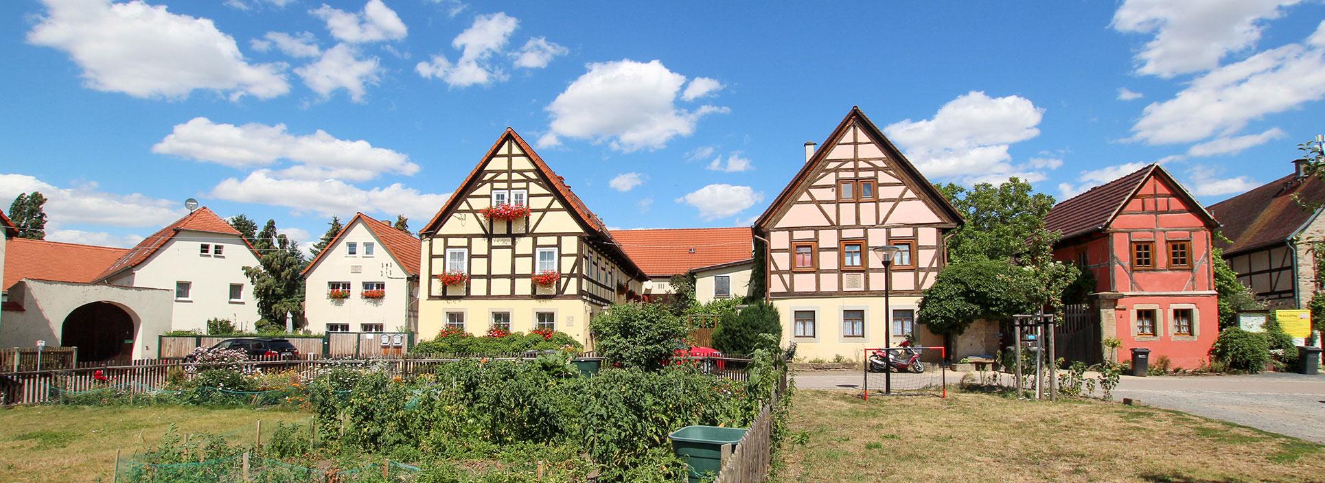 Fachwerkhaus in Weinböhla