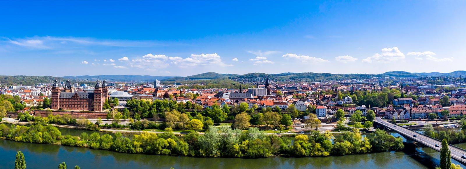 Aschaffenburg Luftbild