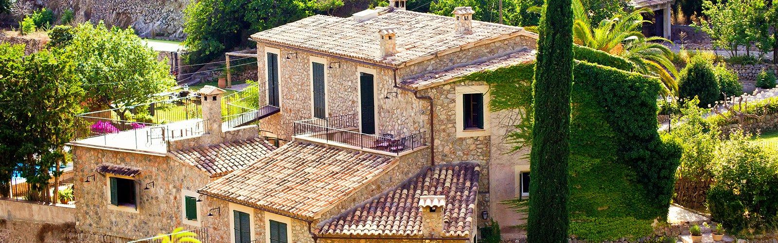 Edles Steinhaus auf Mallorca
