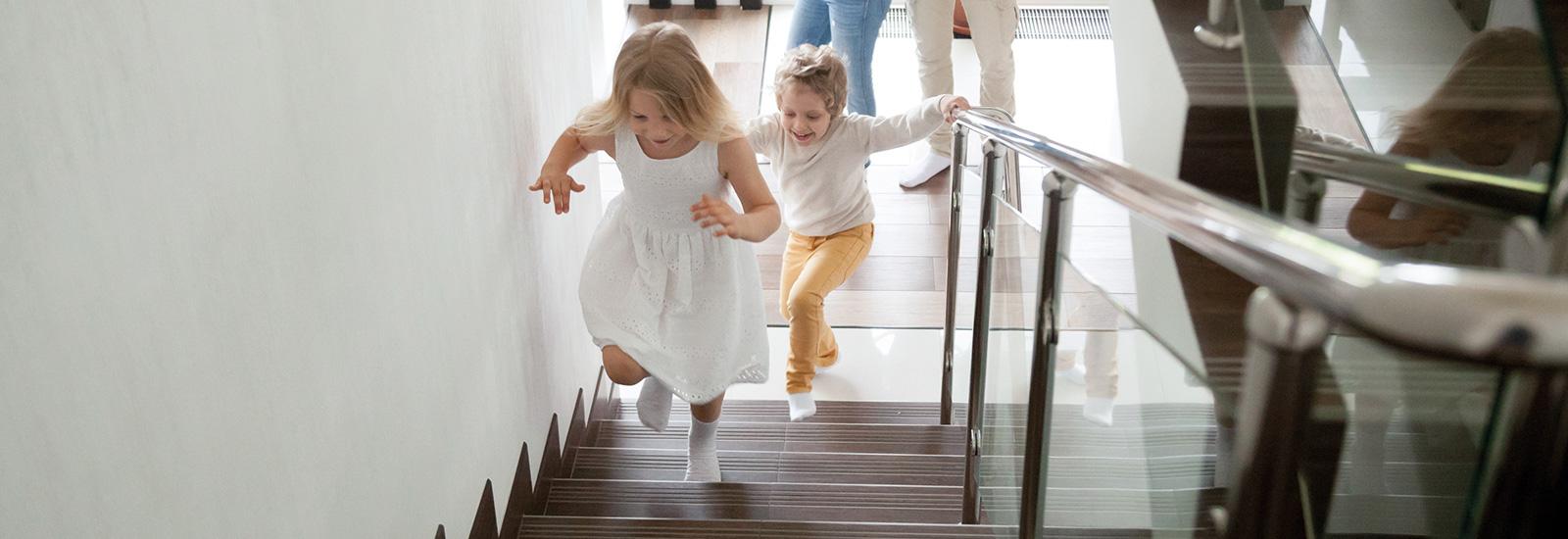 Kinder im Haus