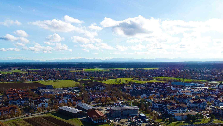 Luftbild Oberhaching