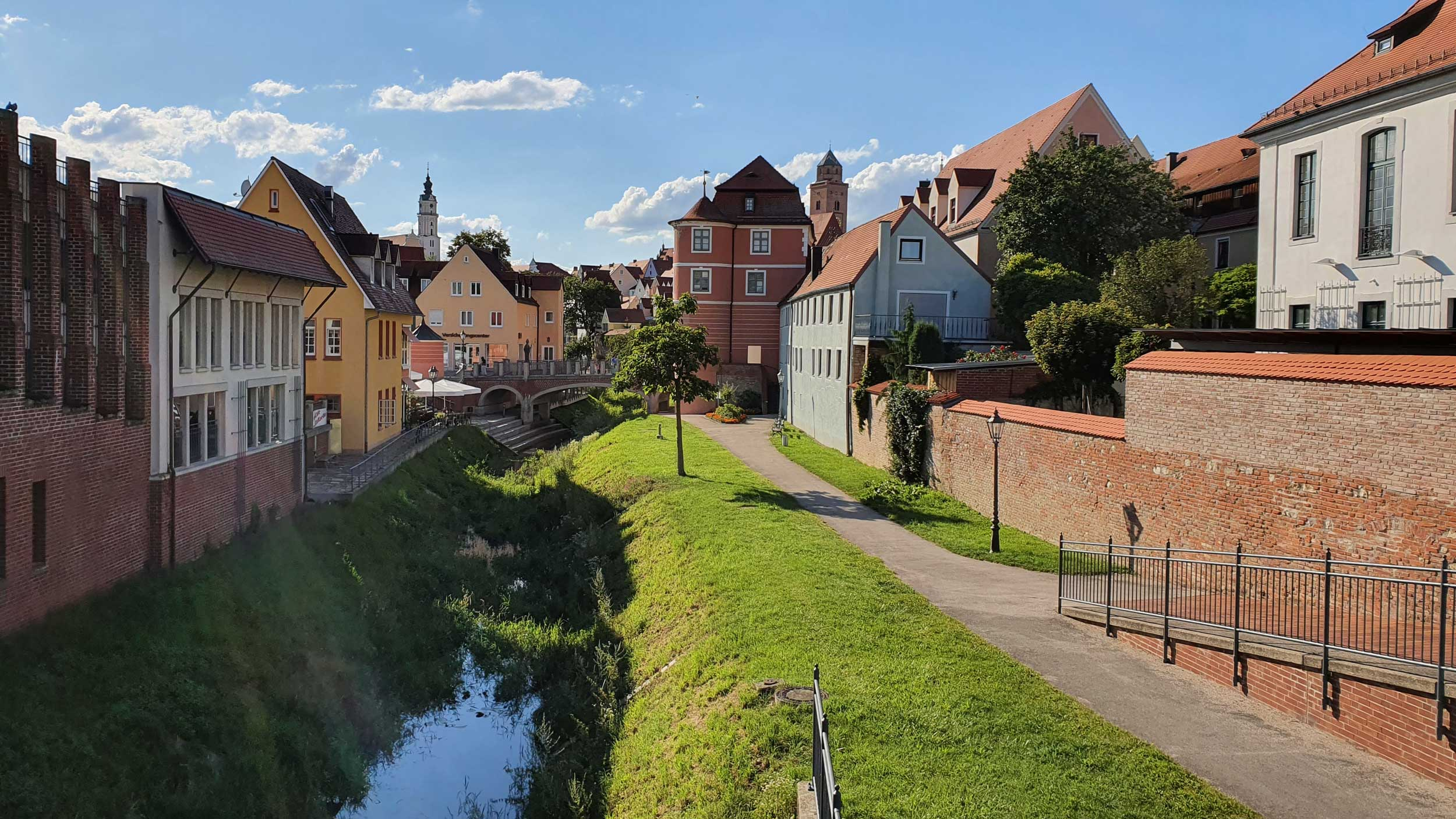 Häuser am Bach