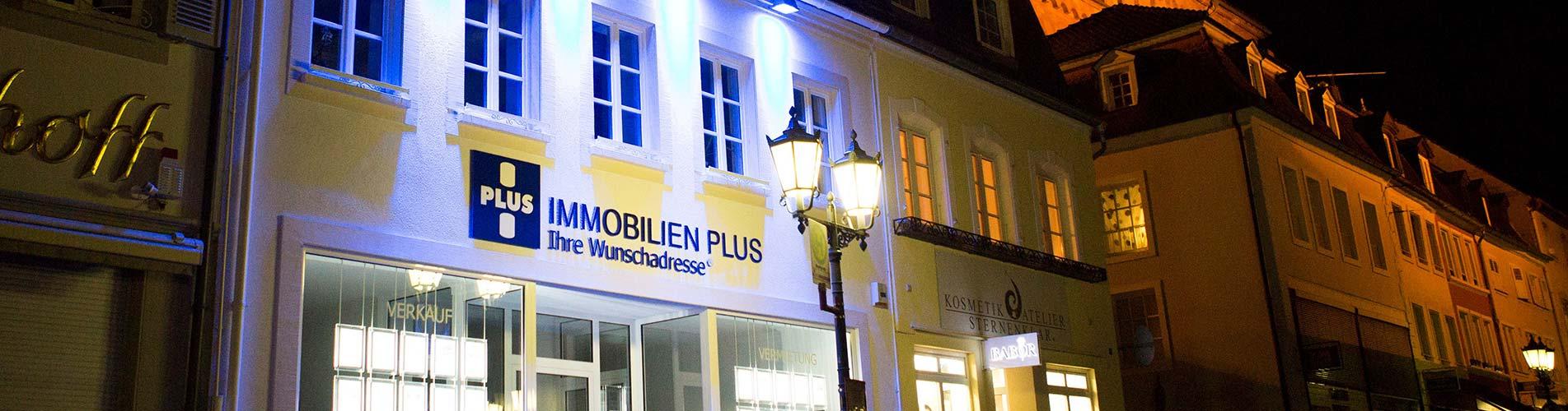Bürogebäude der Immobilien Plus GmbH
