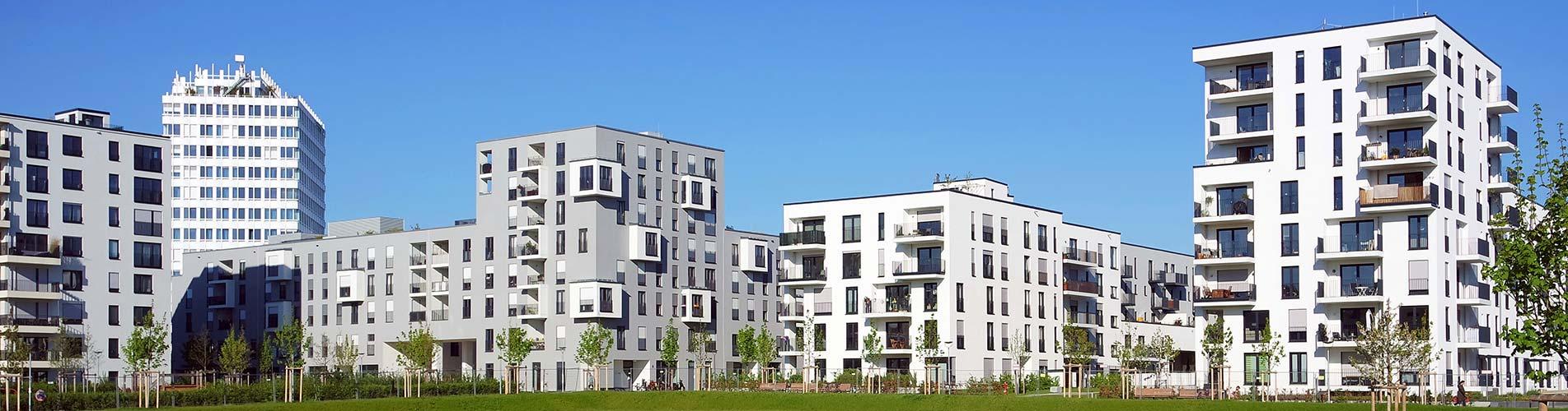 Mehrfamilienhaussiedlungen
