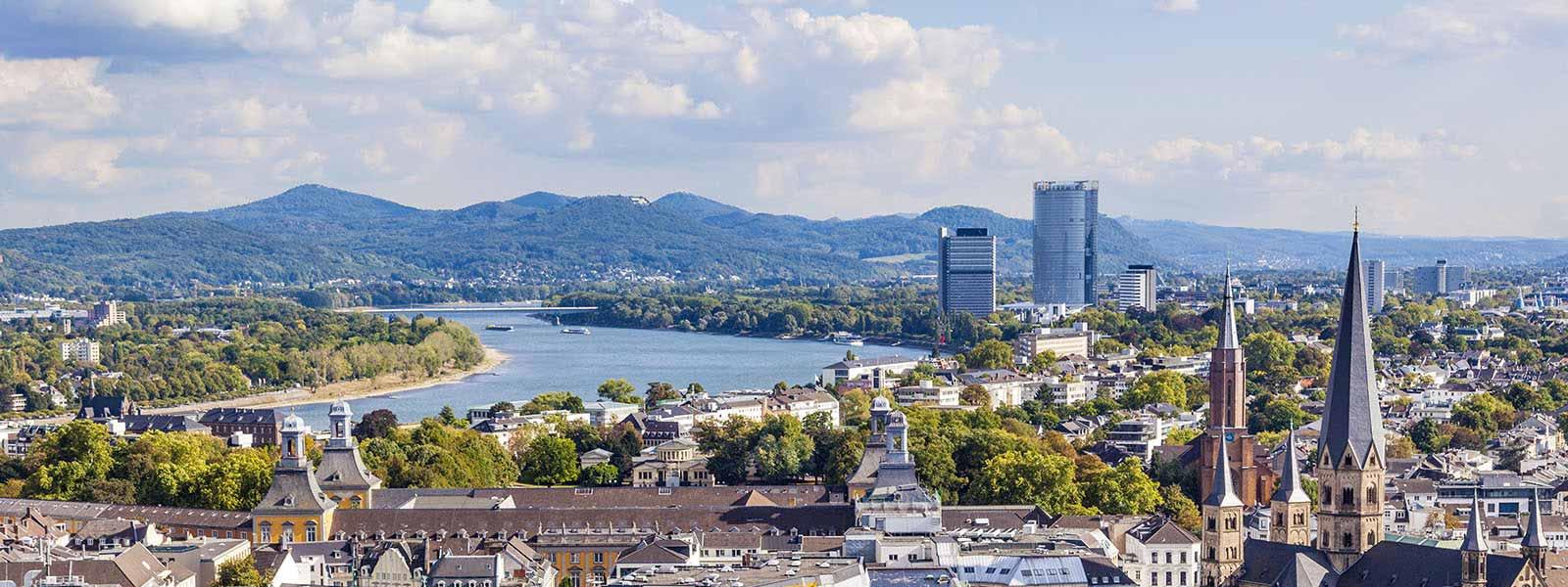 Bonn Luftaufnahme