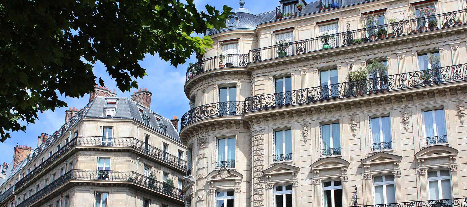 Hausfassade in der Stadt