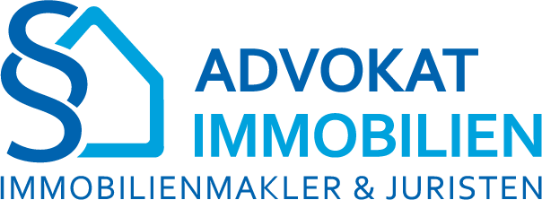 Advokat Immobilien Logo