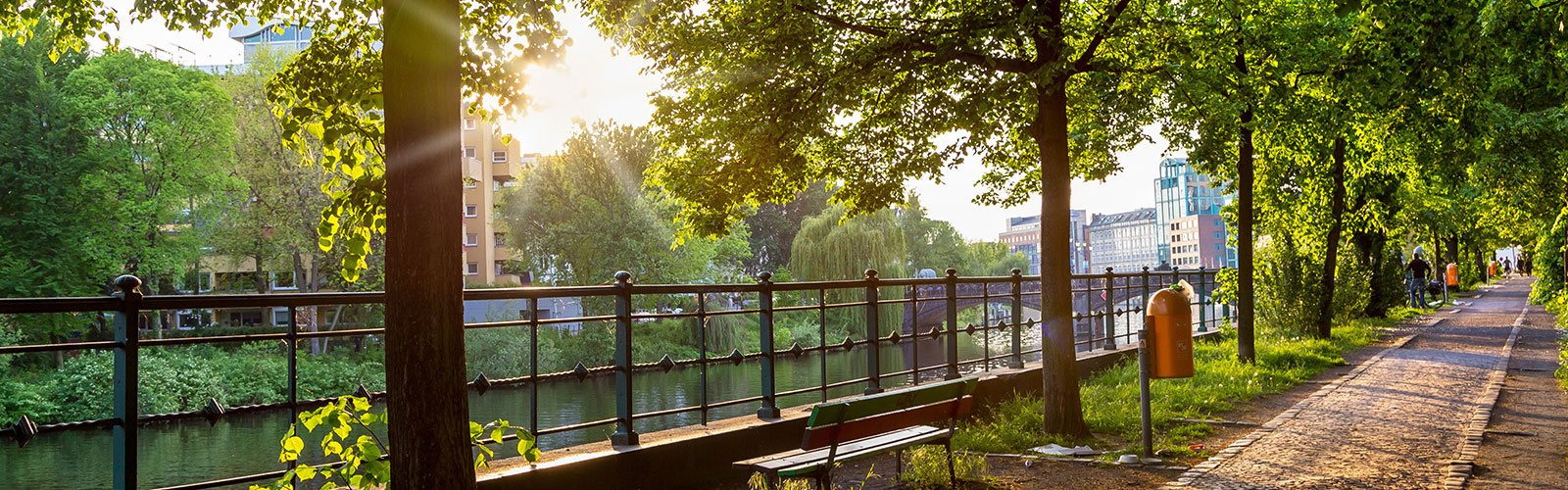 Uferweg in Berlin