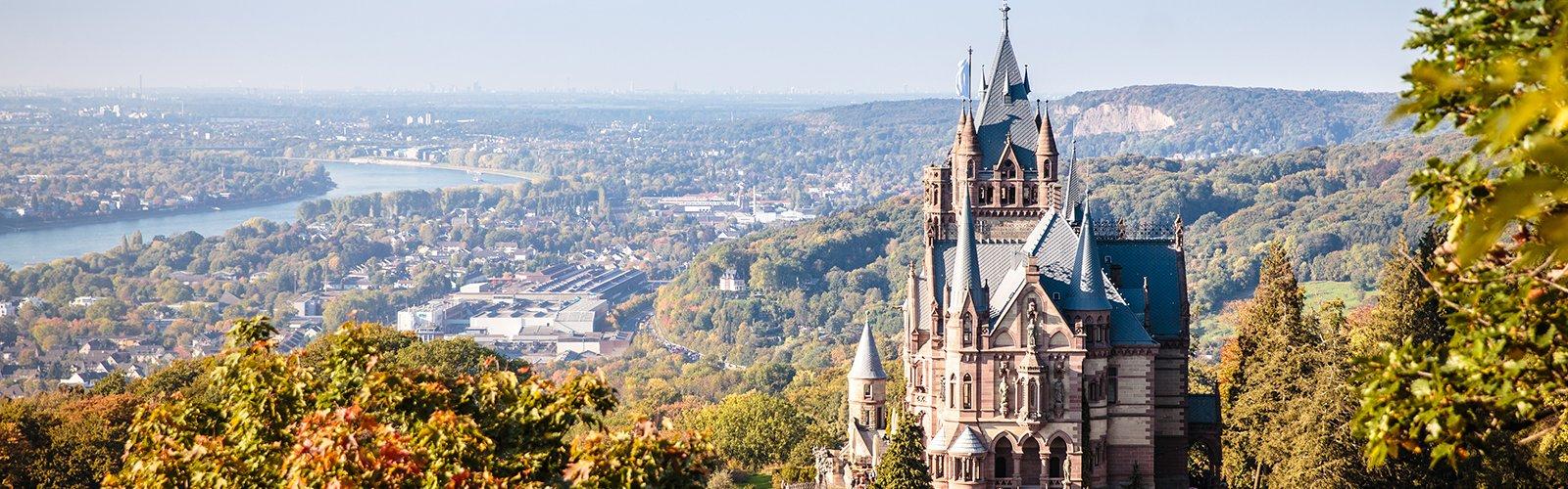 Panorama der Drachenburg