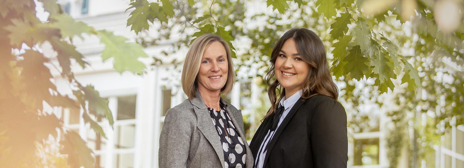 Catarina Lindgren und Gina Großsteinbeck