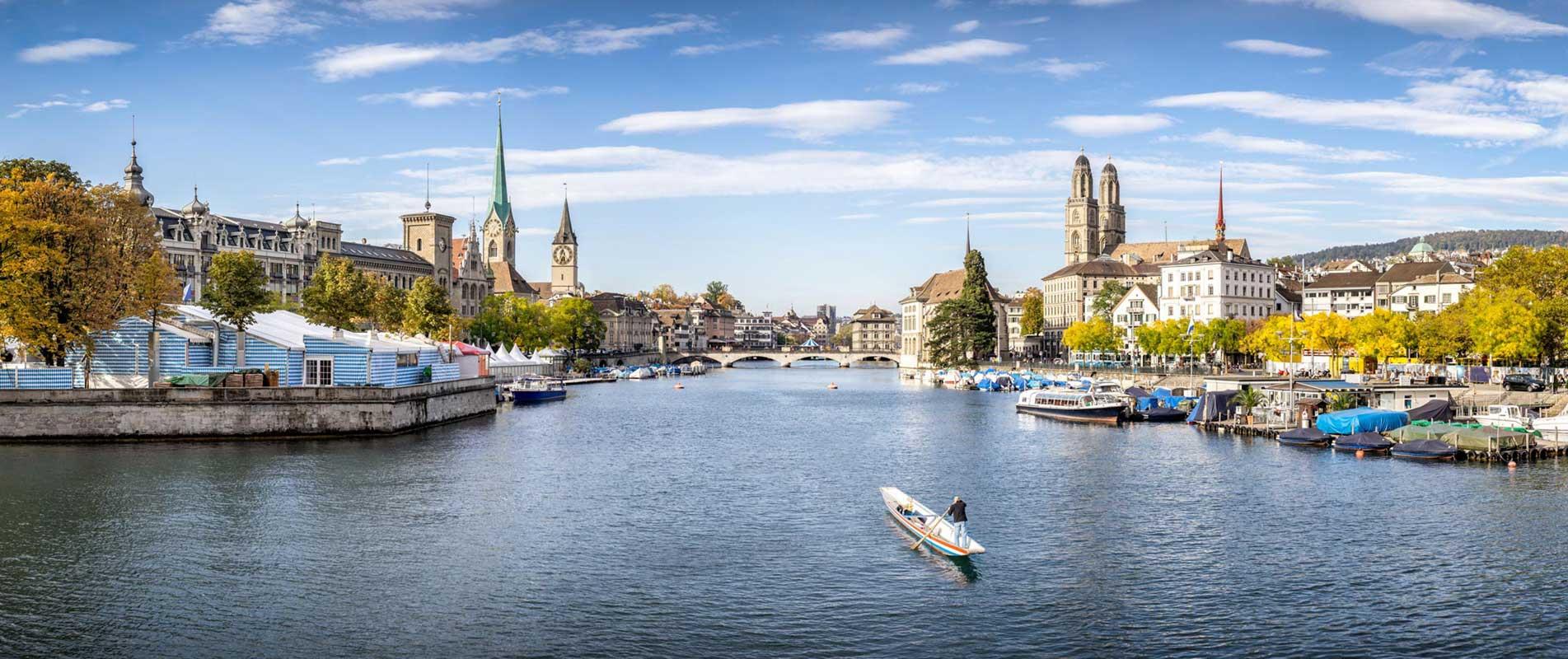 Zürich am Fluss