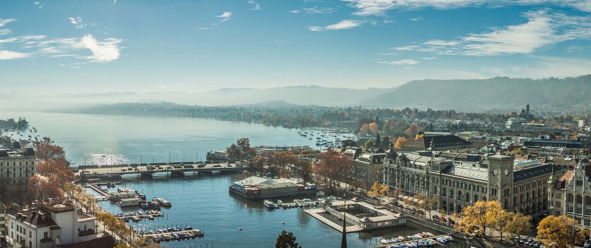 Zürich Stadt am See