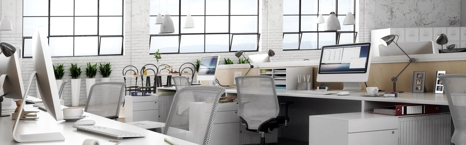 Helles, modernes Büro