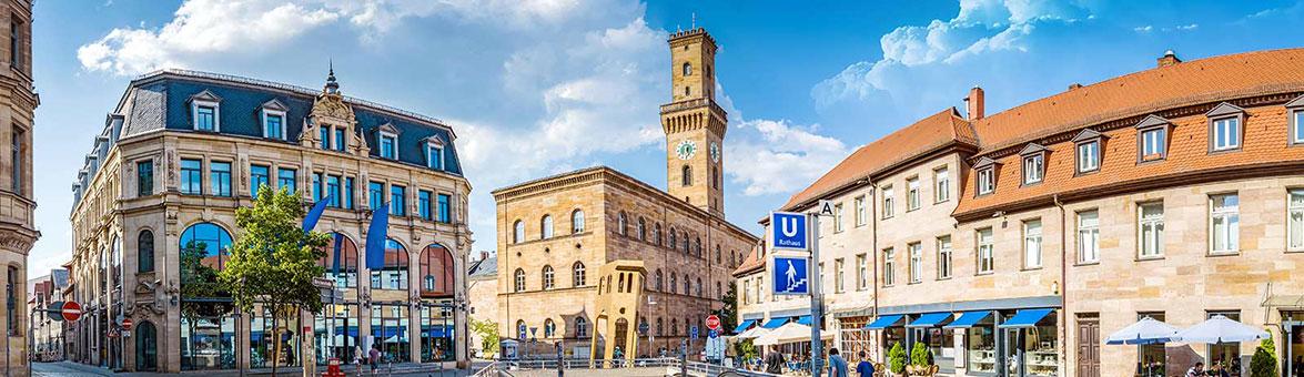 Innenstadt von Fürth