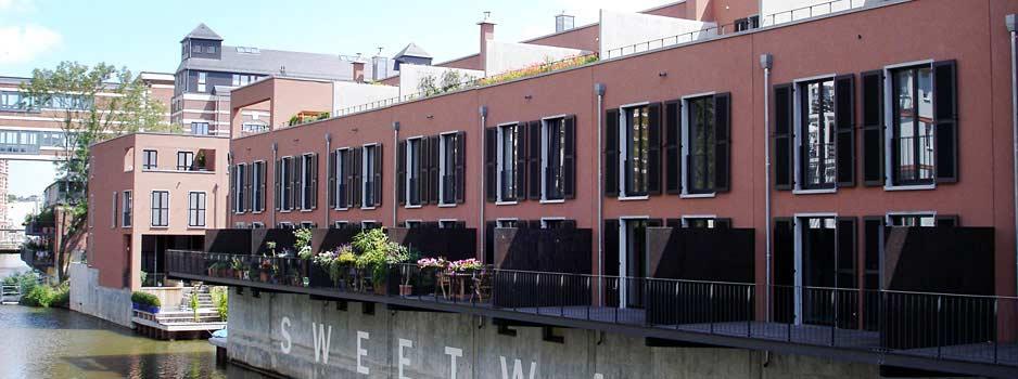 Gewerbeimmobilie am Fluss